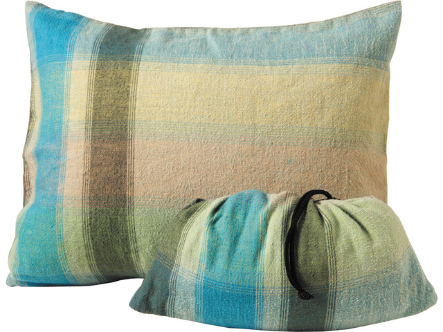 Cocoon Pillow Case Flanelle Coton Large, african rainbow